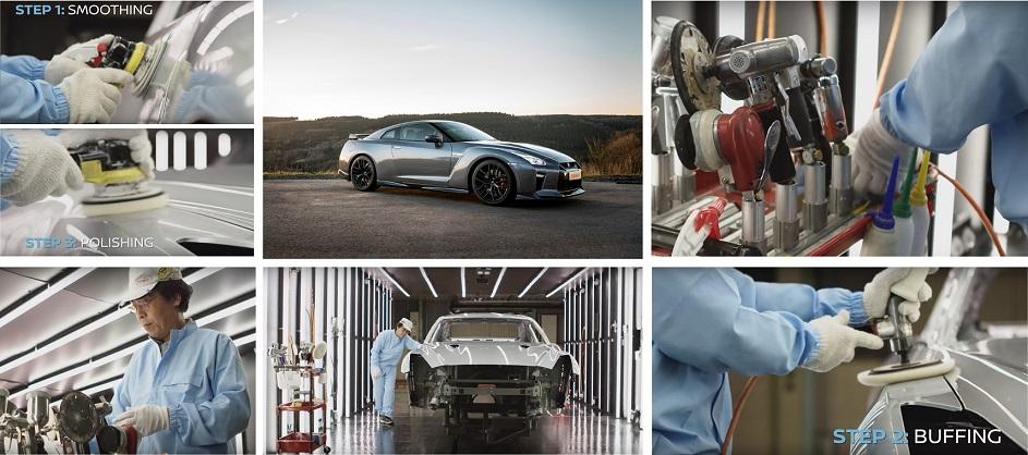 Nissan presenta el proceso artesanal de pulido y pintura del sú