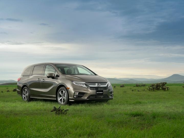 Honda Odyssey web