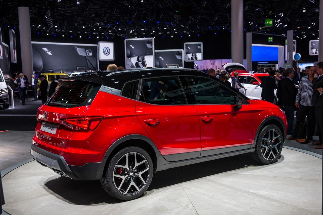SEAT Arona en la Group Night del Grupo Volkswagen en el IAA 2017