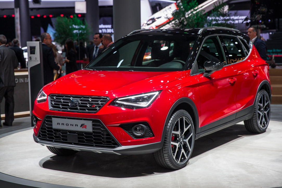 SEAT Arona en la Group Night del Grupo Volkswagen
