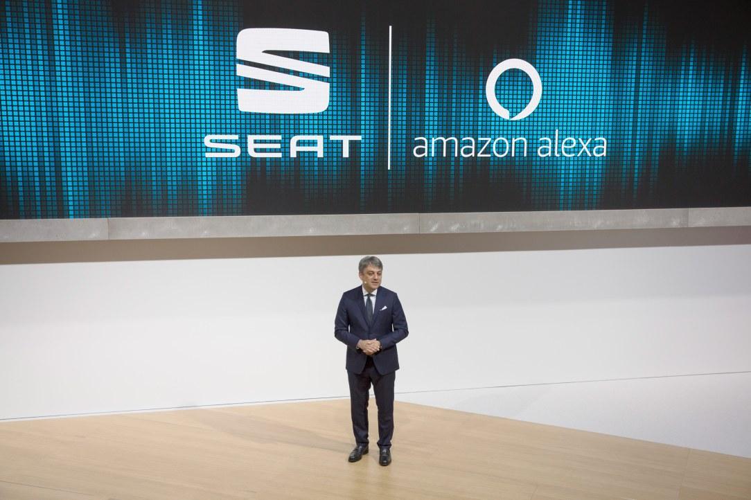 SEAT, primera marca europea en integrar Amazon Alexa