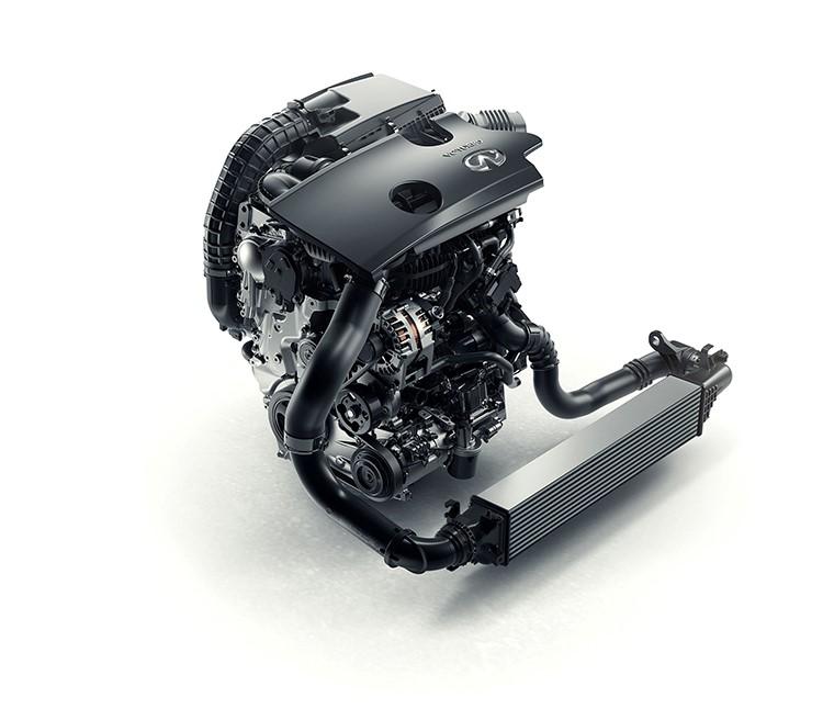INFINITI VC-TURBO, el primer y único motor de compresión varia