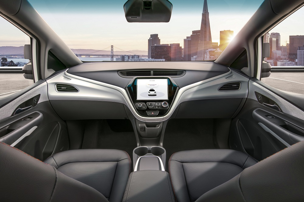 The Cruise AV is designed to operate safely on its own, with no