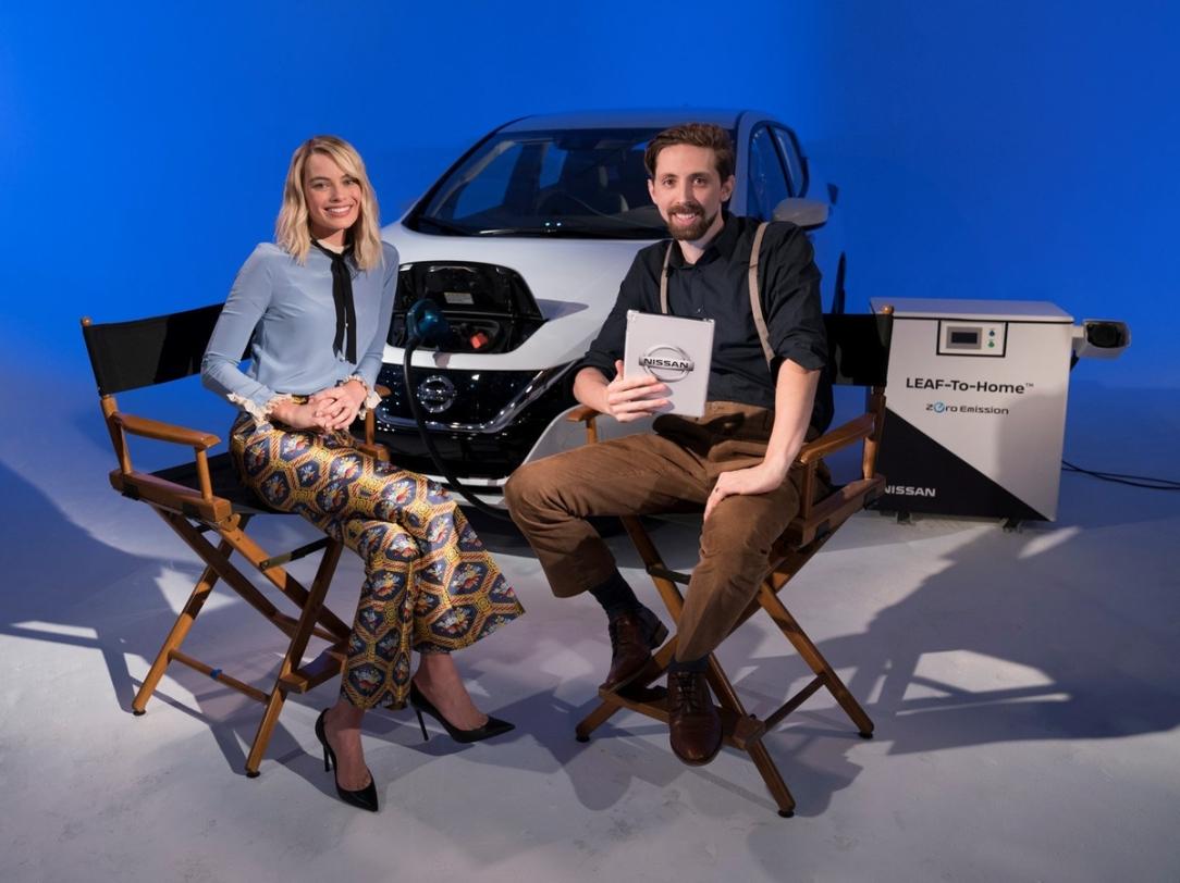 Nissan y la actriz Margot Robbie confirman que el vehículo de l