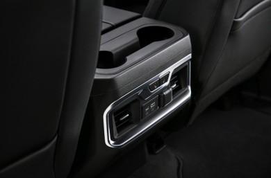 2019 GMC Sierra Denali rear vents