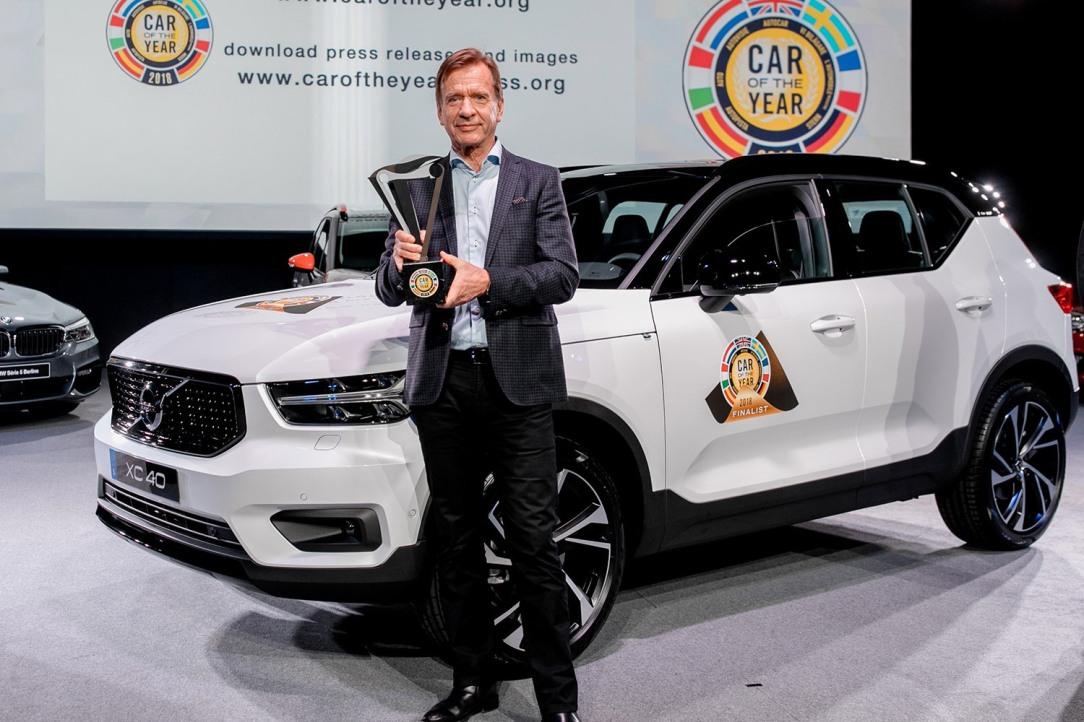 Volvo Car Group President & CEO Håkan Samuelsson at the Europea