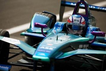 | Driver: Tom Blomqvist| Team: MS & AD Andretti| Number: 27| Car: ATEC-03|| Photographer: Shivraj Gohil| Event: Mexico City ePrix| Circuit: Autodromo Hermanos Rodriguez| Location: Mexico City| Series: FIA Formula E| Season: 2017-2018| Country: Mexico|