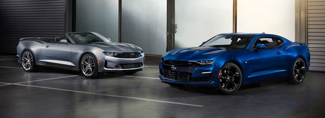2019 Camaro line features new front-end styling with distinct di