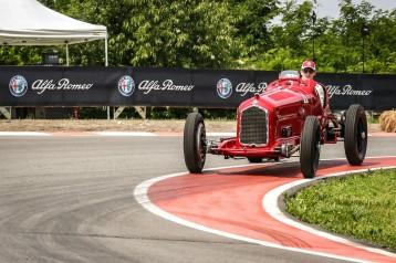 Alfa Romeo Mille Miglia_Charles Leclerc track