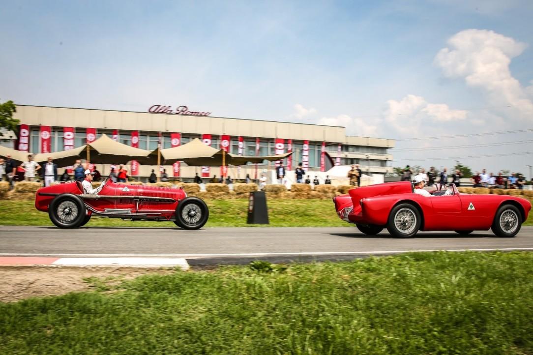 Alfa Romeo Mille Miglia_F1 drivers