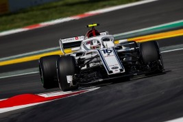 Alfa Romeo Sauber_GP España_ontrack