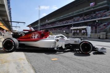 Alfa Romeo Sauber_GP España_PITEXIT