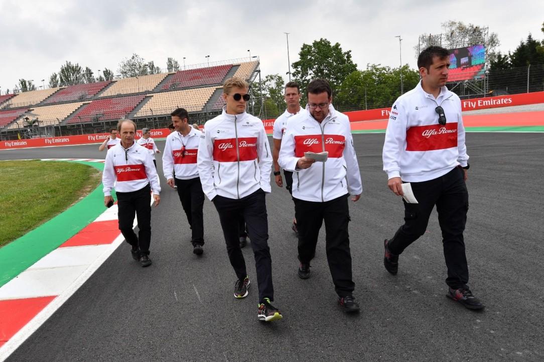 Alfa Romeo Sauber_GP España_recog ME