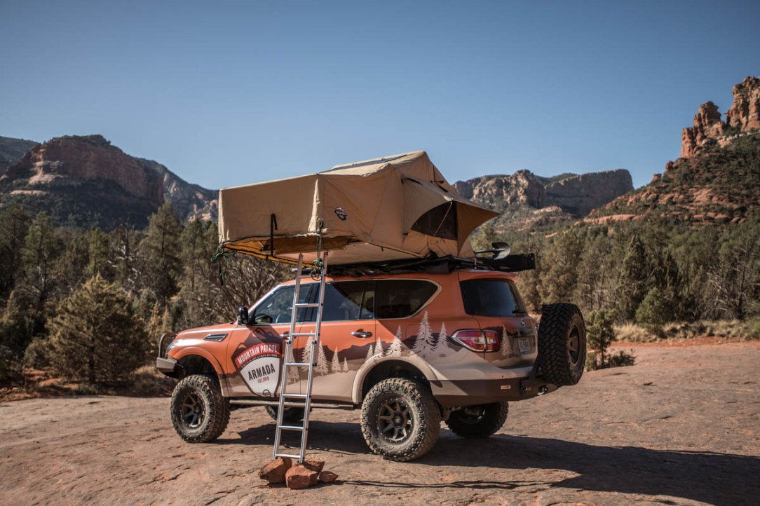 Nissan Armada Mountain Patrol: Un proyecto desarrollado y pensad