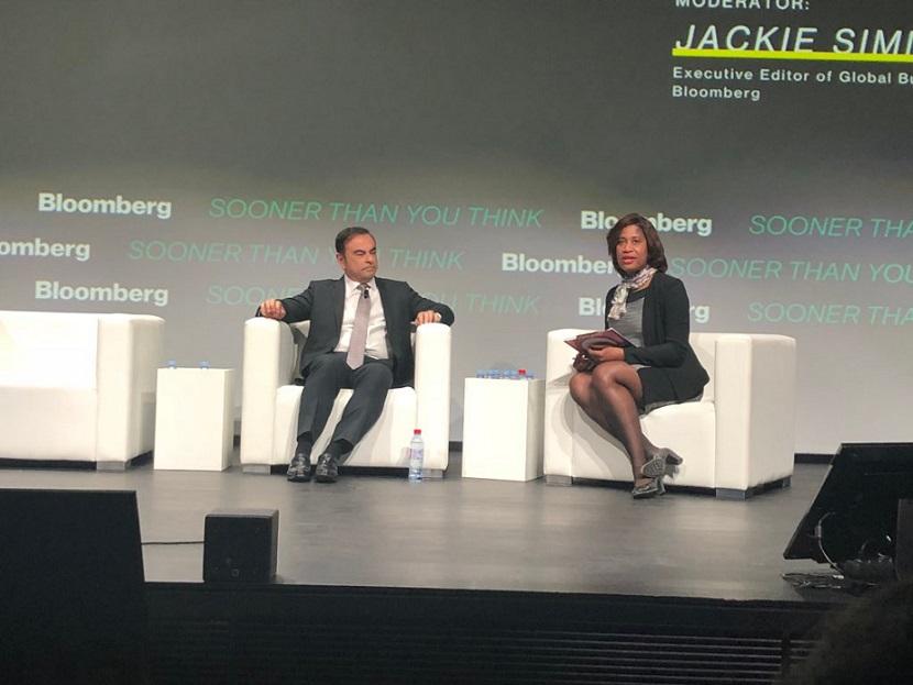 Carlos Ghosn, CEO de la Alianza Renault-Nissan-Mitsubishi, habla
