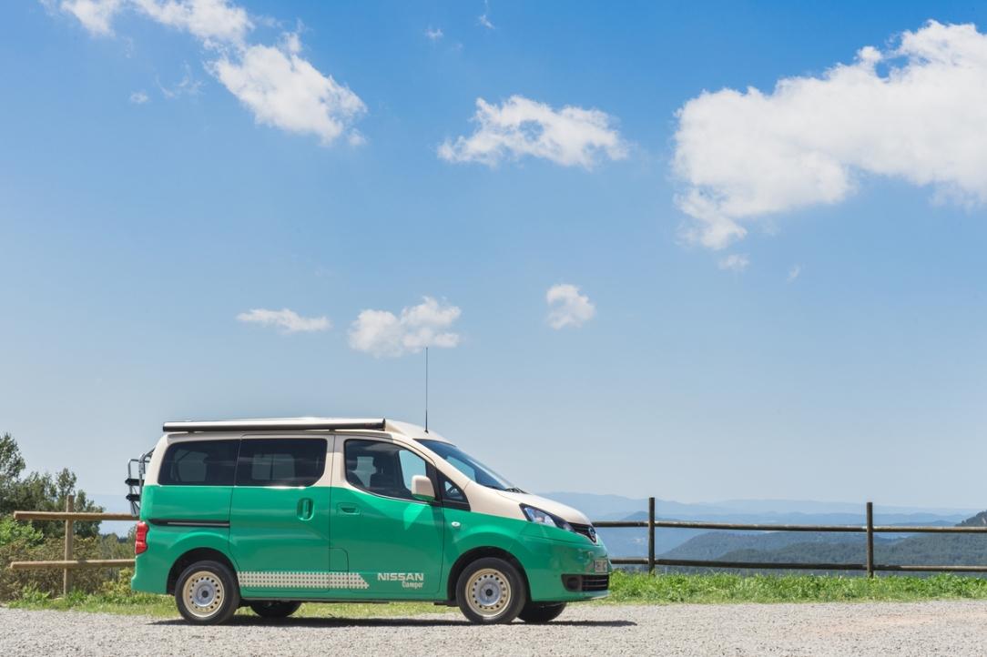 Nissan presenta una nueva gama de vehículos para acampar