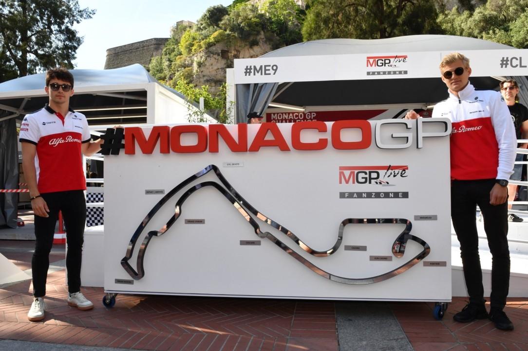 MonacoGP_Alfa Romeo Sauber Drivers