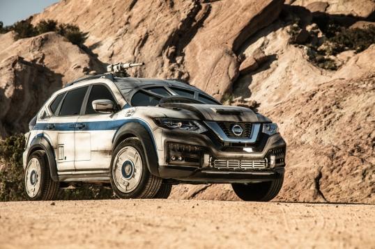"""El más reciente vehículo de Nissan inspirado en Star Wars fue presentado en la premier de la película """"Solo: A Star Wars Story""""."""