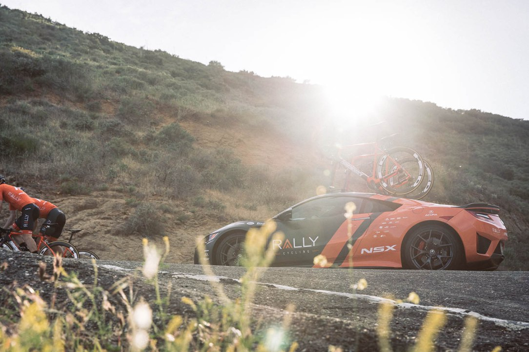 Acura Rally NSX