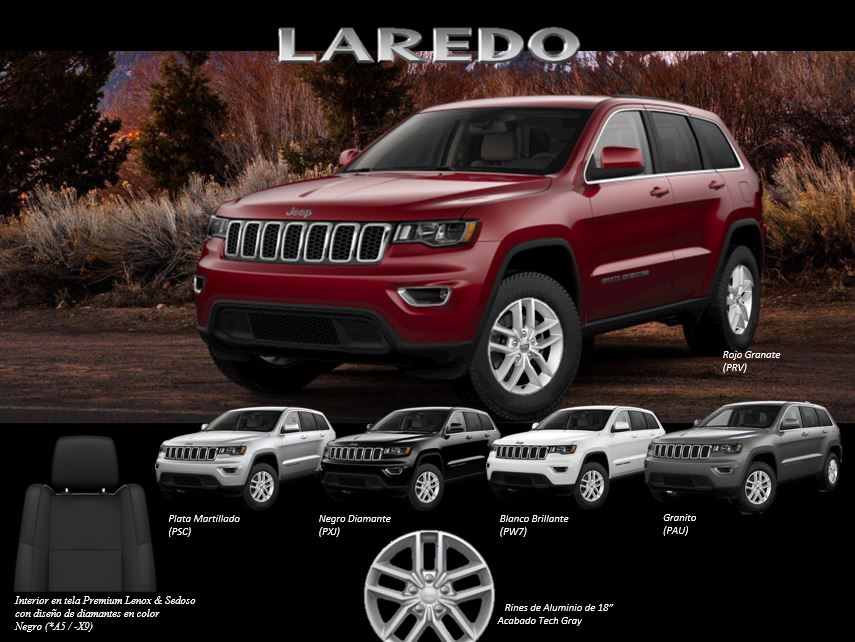 Jeep® Grand Cherokee Laredo 2018_5