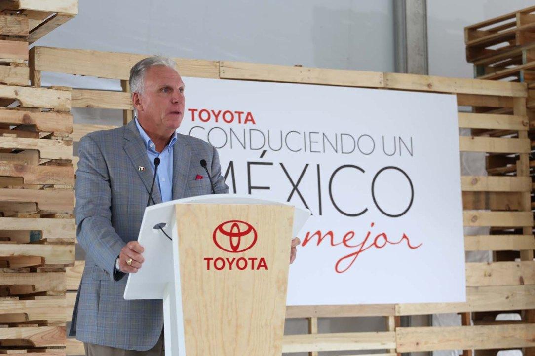 Tom Sullivan, Presidente Toyota Motor Sales México