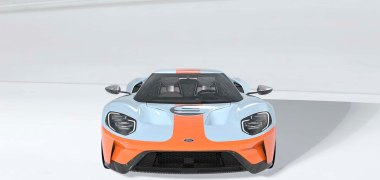 The new 2019 Ford GT Heritage Edition honors the legendary American Gulf Oil-sponsored Ford GT40 by featuring the most famous paint scheme in motorsports – plus a set of additional exclusive touches.