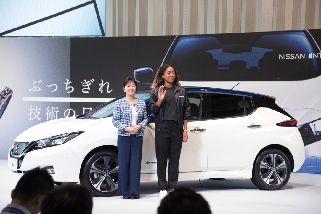 Nissan presenta a su nueva embajadora de marca: la campeona de G