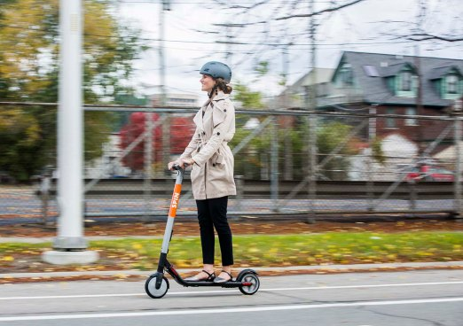 Ford Smart Mobility, LLC acquires Spin, a San Francisco-based electric scooter-sharing company that provides customers an alternative for first- and last-mile transportation
