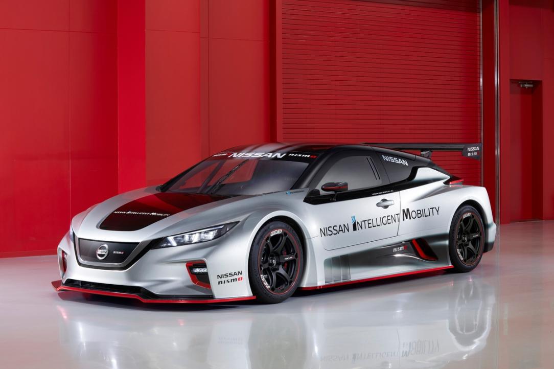 Nissan devela el totalmente nuevo vehículo eléctrico de carrer