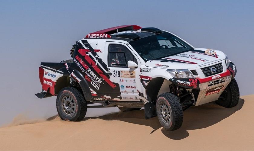 Nissan NP300 Frontier se prepara para participar en el Rally de