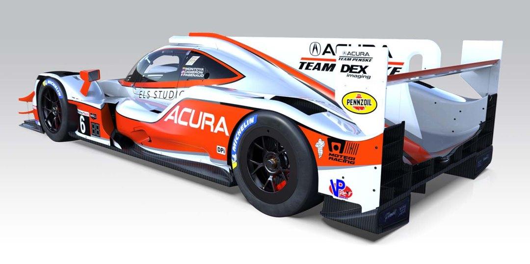 2019 Acura Team Penske #6 ARX-05 Prototype
