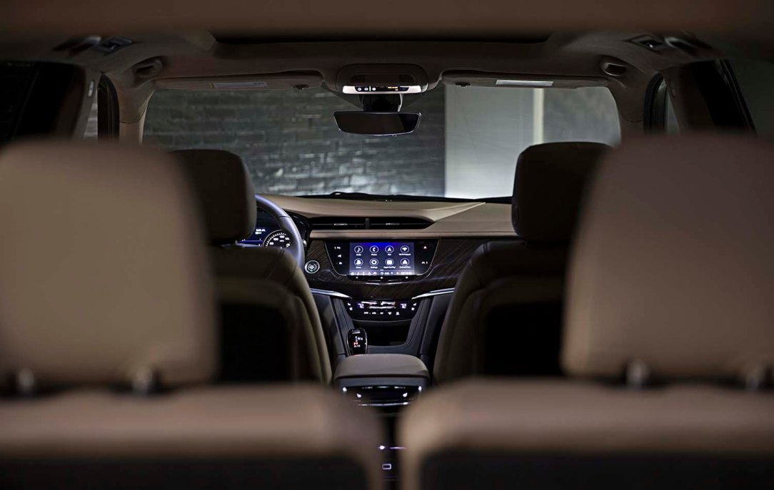 Cadillac XT6's HD 8-inch-siagonal screen is now even easier to