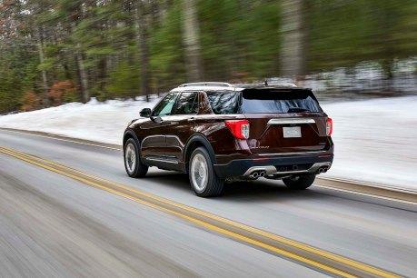 7 ford explorer platinum