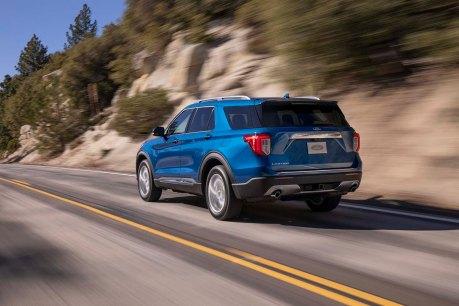 8 ford explorer limited