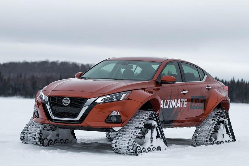 Nissan Altima-te AWD Project: la máxima expresión de tracción