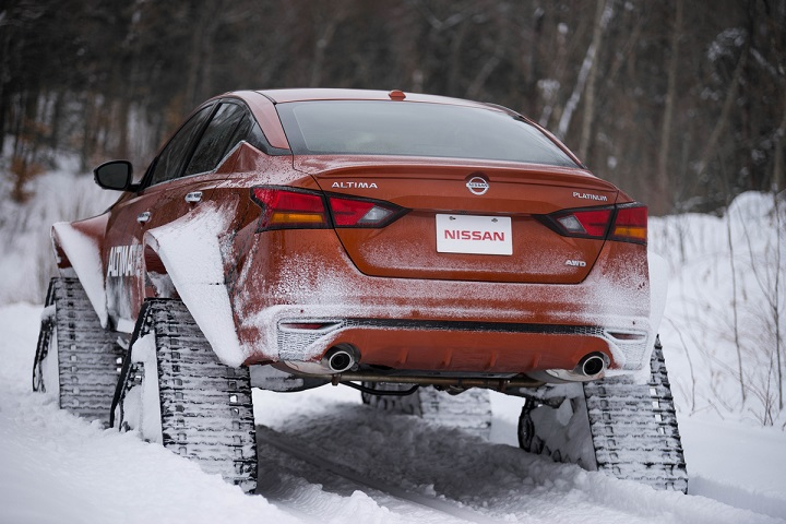 The Altima-te AWD project vehicle