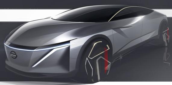 Una característica destacada de IMs es su conexión única con el mundo virtual, lo que Nissan llama Invisible-Visible, o I2V.