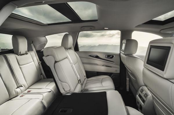 INFINITI QX60, versatilidad y confort para 7 pasajeros