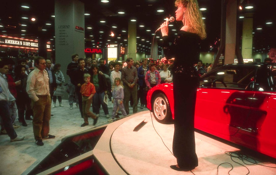 NS-X at 1989 Chicago Auto Show