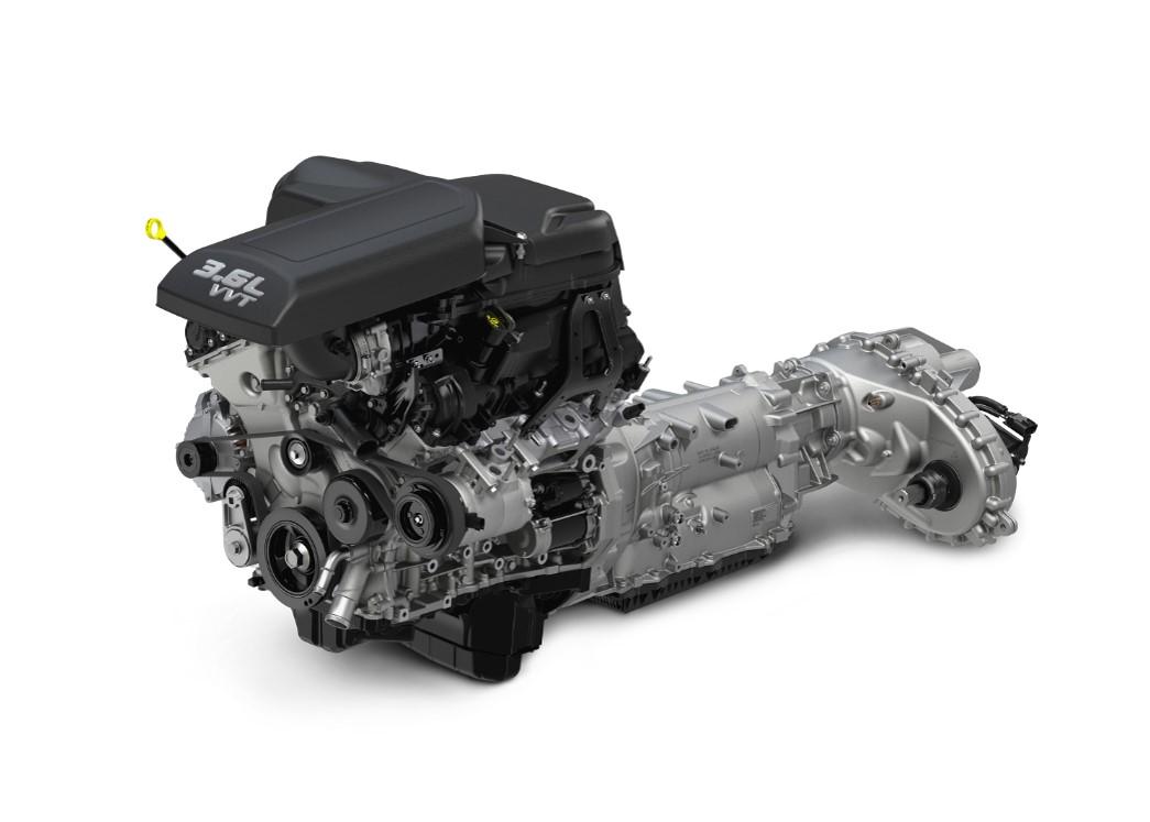 Pentastar y transmisión automática de 8 velocidades TorqueFlite