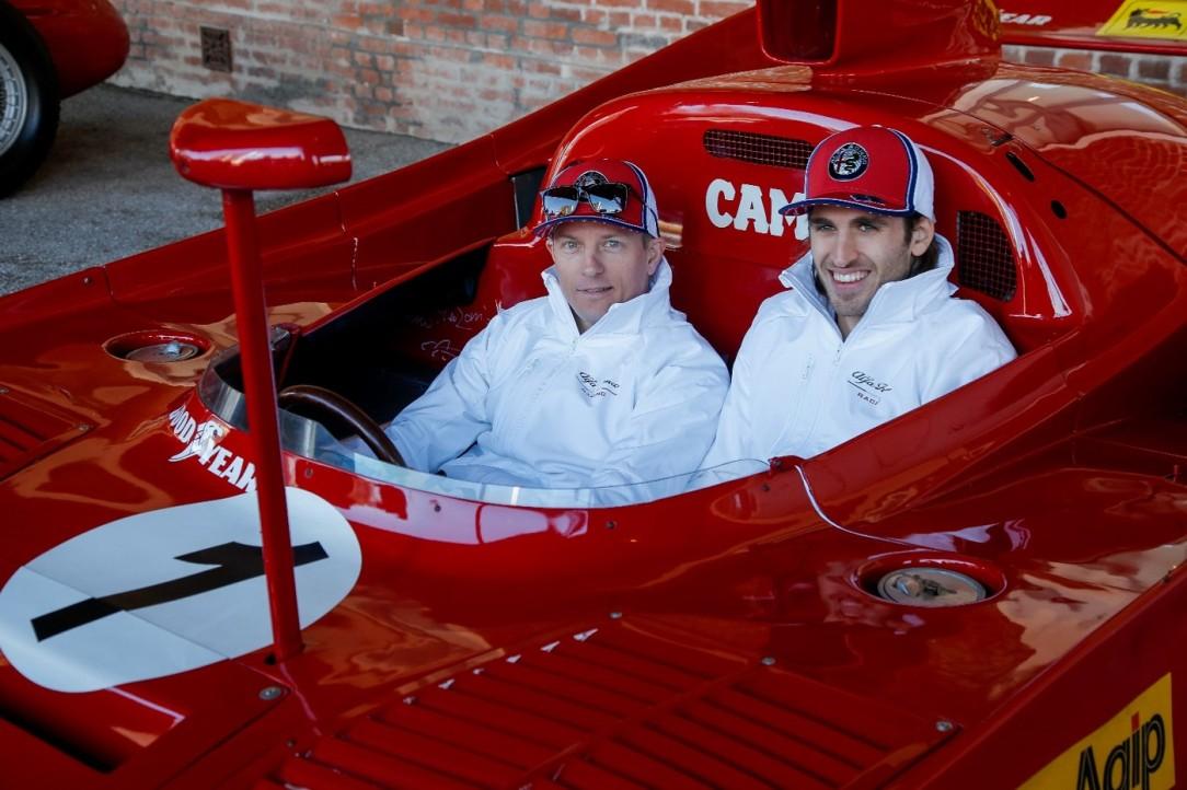 Raikkonnen Giovinazzi_Balocco_Alfa Romeo Racing2