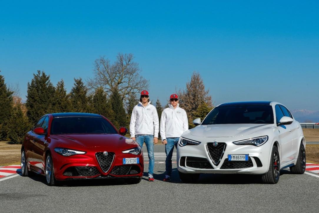 Raikkonnen Giovinazzi_Balocco_Alfa Romeo RacingPP