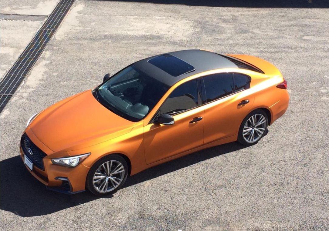 INFINITI Car Wrap, el servicio para personalizar el color de tu