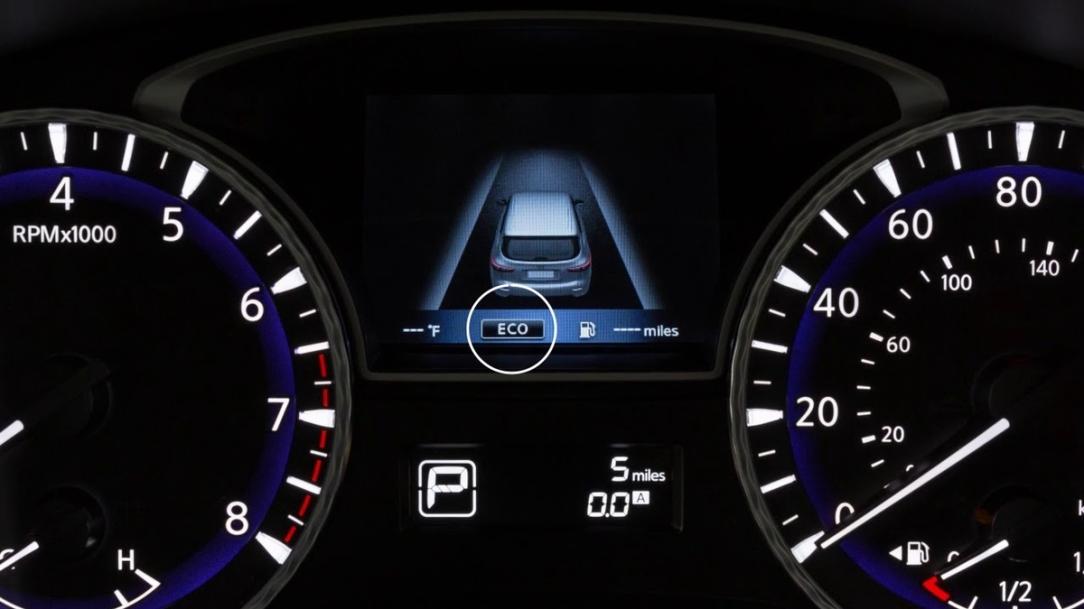 INFINITI modos de manejo para toda ocasión: Standard y Eco (Par