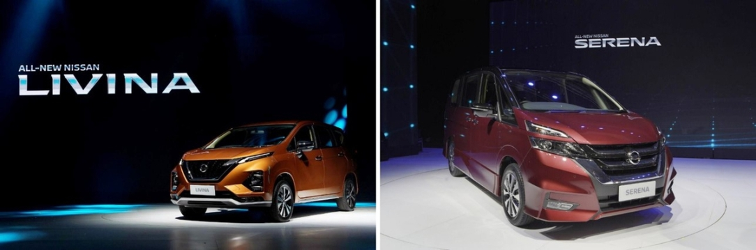 Nissan presenta los totalmente nuevos Nissan Livina y Nissan Ser