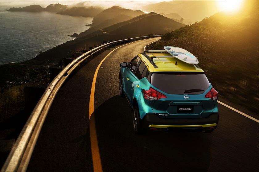 Nissan Kicks Surf Concept: inspirado en la emoción del surf