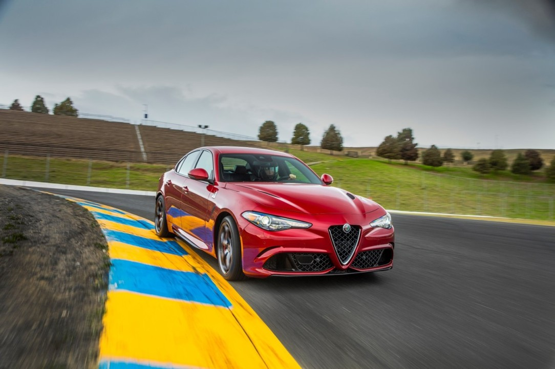 Alfa Romeo Giulia QV a