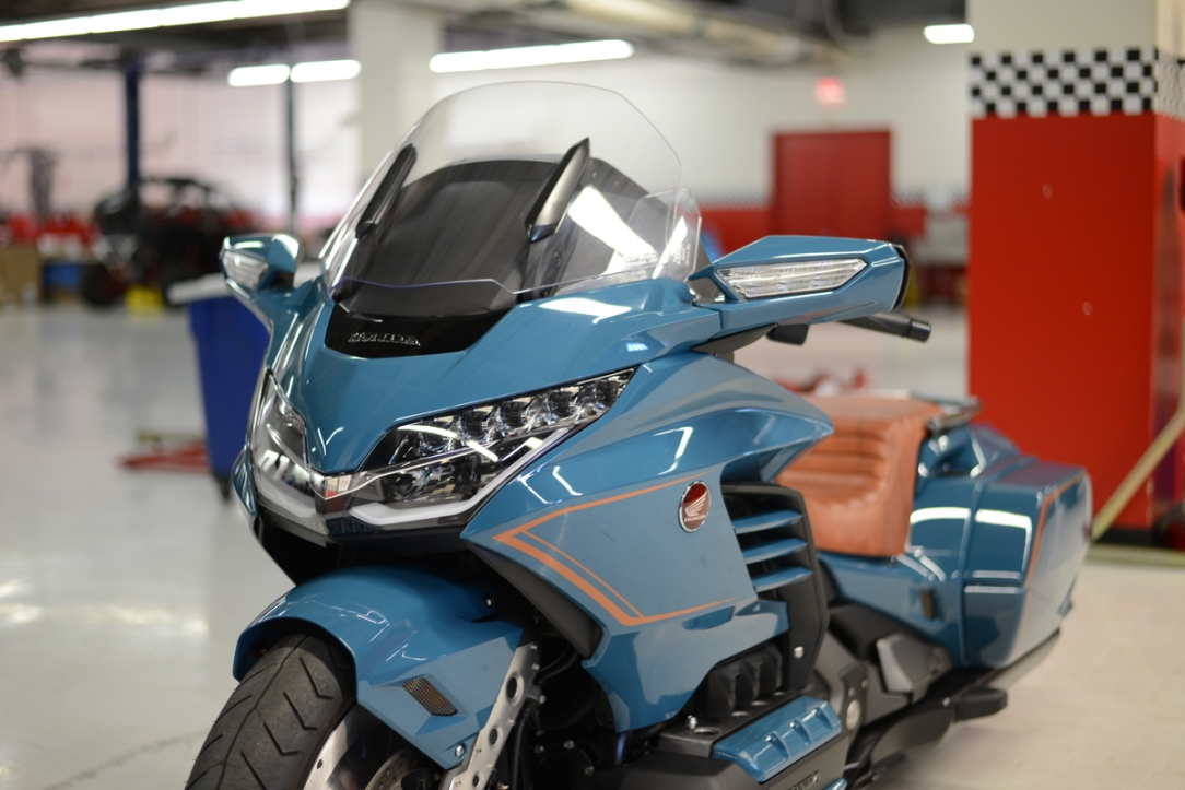 Honda Unveils Custom Gold Wing at Bike Week