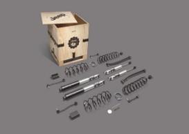 Kit de suspesión de dos pulgadas con amortiguadores Fox