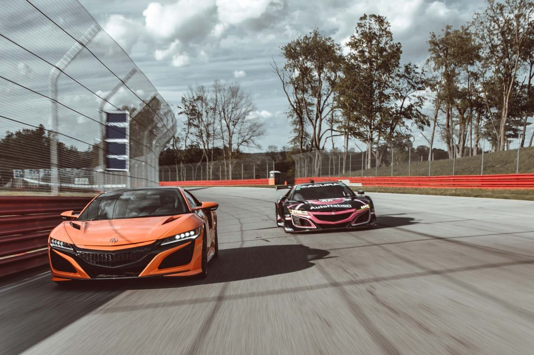 NSX and NSX GT3 Evo